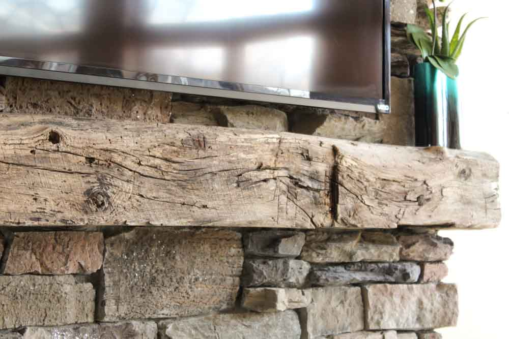 fireplace mantel beam. Picture HERITAGE MANTELS  Home